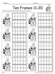 15 best images of free printable ten frame worksheets