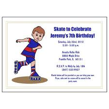 roller skating birthday party invitation boy u2013 mandys moon