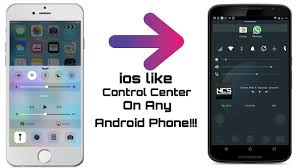 center android how to get ios like center on any android phone