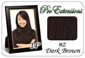 pro extensions pro extensions 14 x 39 2 brown 100 real