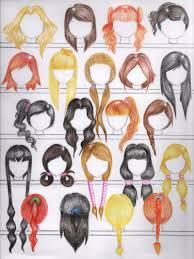 names of anime inspired hair styles anime girl hairstyles name hairstyles ideas