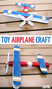 airplane craft make a wooden toy airplane
