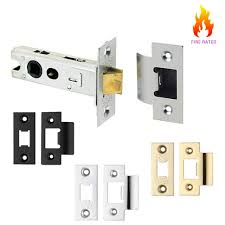 Internal Door Locks Mortice Tubular Latch Low Degree Travel For Internal Door Knobs