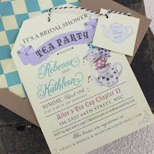 templates free tea party bridal shower invitations with high