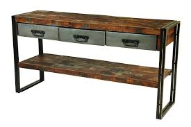 console table with metal legs style console