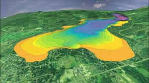 Montana Topographic Map by Whitefish Lake Mov Youtube