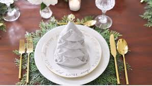 napkin folding tree how to fold napkins for the holidays