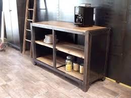 meuble tv cuisine meuble industriel bois metal meuble tv industriel meuble à table