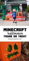 Halloween Trunk Decorations Minecraft Trunk Or Treat Ideas Frog Prince Paperie