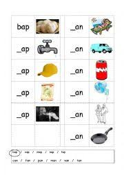 english worksheets phonics 3 letter words cvc writing ap an