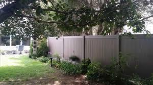 backyard vinyl fence home u0026 gardens geek