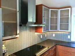 Kitchen Cabinets With Frosted Glass Black Glass Kitchen Cabinets L Shaped Kitchen Frosted Glass