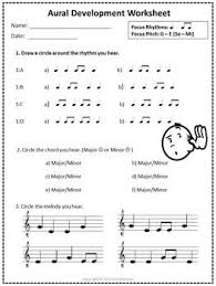 76 best assessment and worksheets images on pinterest music