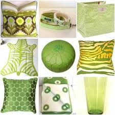 green accessories for living room interior design