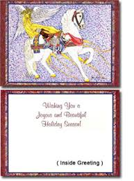 h1 u003echristmas cards carousel horse christmas cards by artist james