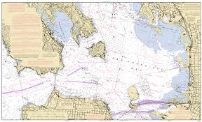 World Map Actual Size San Francisco Bay To Antioch Nautical Chart νοαα Charts Maps