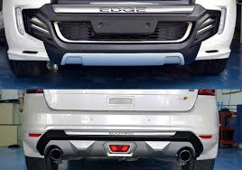 ford edge accessories ford edge bumper cover pictures to pin on thepinsta