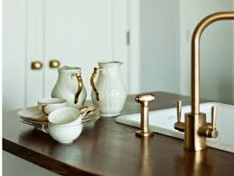 kitchen faucet finishes is gold the new standard in faucet finishes revuu