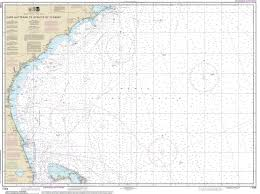 Map Of Florida Coast by Modern Nautical Maps Of Florida 1 400 000 Scale Nautical Charts