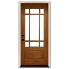 36 x 80 9 lite doors with glass wood doors the home depot