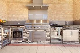Outdoor Stainless Steel Kitchen - interior gorgeous outdoor kitchen decoration with outdoor