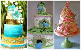 beautiful and most creative wedding cakes