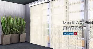 Vertical Blinds Room Divider My Sims 3 Blog Lace Net Vertical Blinds By Pauleanr