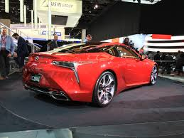 2017 lexus coupes 2016 detroit 2017 lexus lc 500 brings in new era for brand