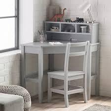 Kid Desks Desks Classic Corner Desk And Reversible Hutch With Chair
