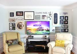 best gallery walls 8 best ways to decorate around tv maggiescarf