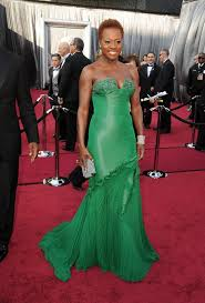 viola davis at the academy awards 2012 popsugar celebrity
