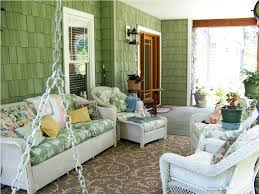 Screened In Porch Decor Decorating Ideas For Screened In Porch House Decorations And