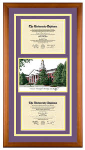 ohio state diploma frame tennessee technological tennessee tech ttu golden eagles