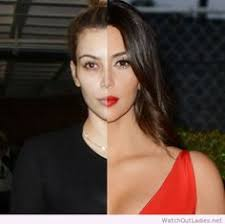 kim kardashian posts no makeup selfie uses bad grammar