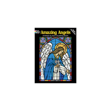 cool inspiration stained glass coloring books dover pages 224