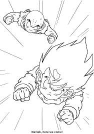 coloring page dragon ball z coloring pages 36