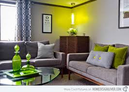 Lime Green Dining Room Plain Design Lime Green Living Room 15 Lovely Grey And