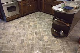 interior lovely brick herringbone tile layout design as flooring