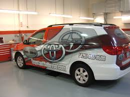 toyota car dealership auto dealership promotional wraps autotize