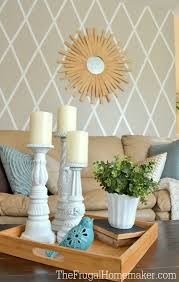 Home Design Free Diamonds by How To Paint A Diamond Accent Wall Using Scotchblue Painter U0027s Tape