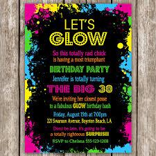 best bachelorette party invitations glow party invitations marialonghi com