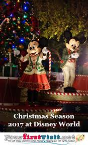 When Is Disney Decorated For Christmas Christmas 2017 At Walt Disney World Yourfirstvisit Net