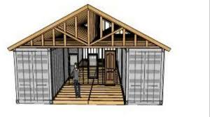 shipping container workshop plans youtube