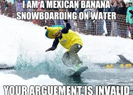 Snowboarding Memes - mexican banana memes quickmeme