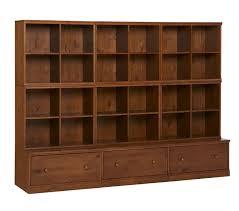 3 Drawer Base Cabinet Cameron 6 Cubby U0026 3 Drawer Base Storage System Pottery Barn Kids