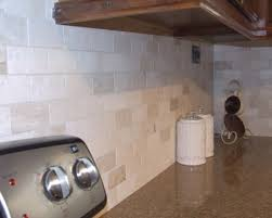travertine backsplash minimalist agreeable interior design ideas
