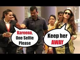 Kareena Kapoor Memes - rude kareena kapoor refuses to click photo with a female fan youtube