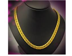 new arrival fashion 24k gp gold plated mens women 9mm width 20 inch length 24k gp yellow real gold plated men chain