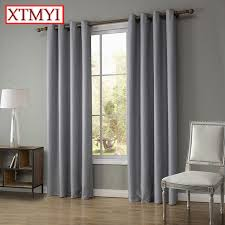 Brown Blackout Curtains Modern Linen Blackout Curtains For Bedroom Brown Beige Window