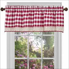 White Kitchen Curtains by Kitchen Red And White Curtains Kitchen Window Treatments Teal